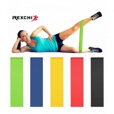 Bandas de resistencia REXCHI para gimnasio, Fitness, para Yoga, estiramiento, bandas de asistencia, goma para Crossfit, ejercici