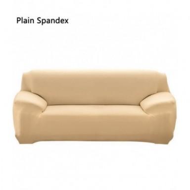 1/2/3/4 funda Universal elástica para sofá, fundas elásticas gruesas de punto para sala de estar, funda para sillón