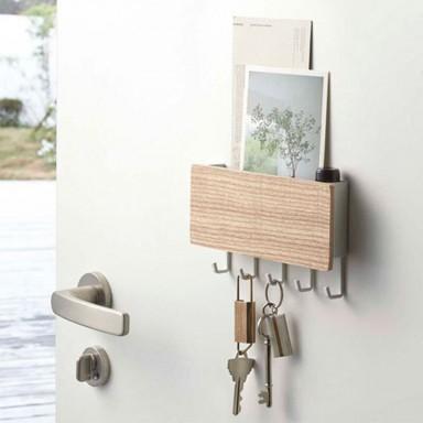 Colgador de llaves madera