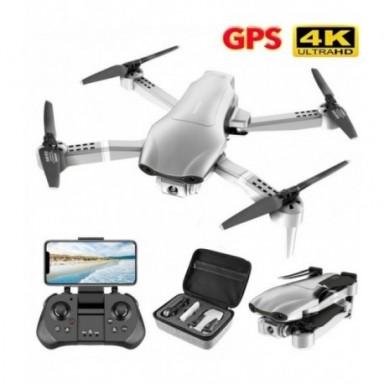 Drone GPS 4K 5G WiFi video en vivo FPV 4K/1080P HD Cámara gran angular plegable, mantenimiento de altitud, RC Drone duradero