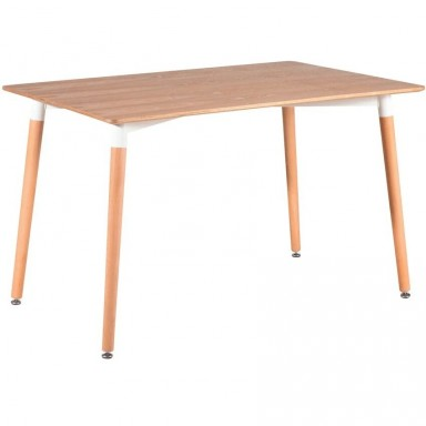 Mesa rectangular Eames