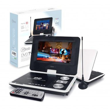 DVD Player 7¨ Mlab. Incluye Funda transportable