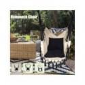 Hamaca silla con barra borla exterior Interior dormitorio patio para niños adultos columpio hamaca Silla de seguridad individual