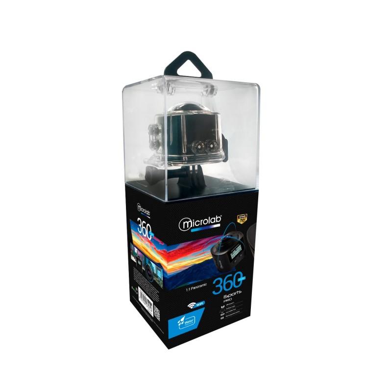 Camara 360° iSport Pro WIFI Outdoor