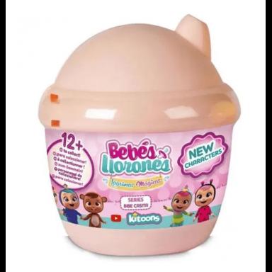 Bebes llorones lagrimas magicas rosada