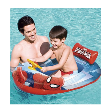 Bote inflable Spiderman