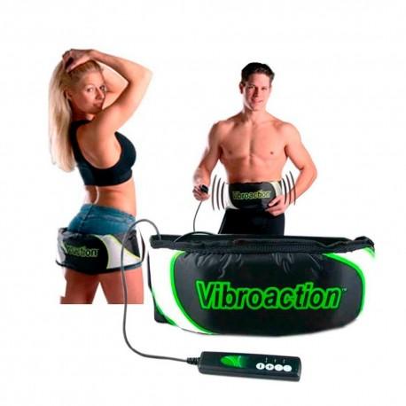 Cinturón abdominal vibroaction