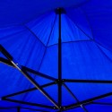Toldo plegable 3x3 metros. Color azul Outdoor