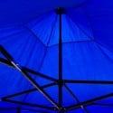 Toldo plegable 3x3 metros. Color azul Carpas