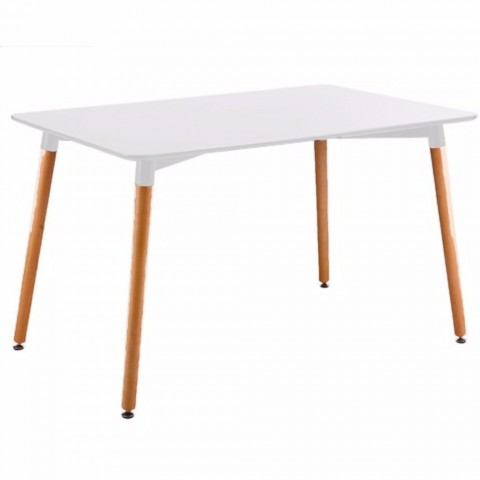Mesa Eames rectangular color blanco Mesas