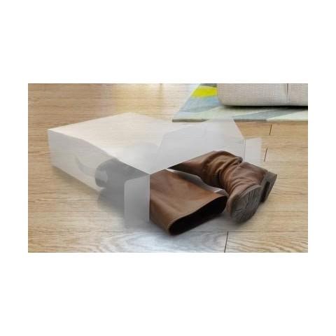 Pack de 5 cajas organizadoras para botas Hogar