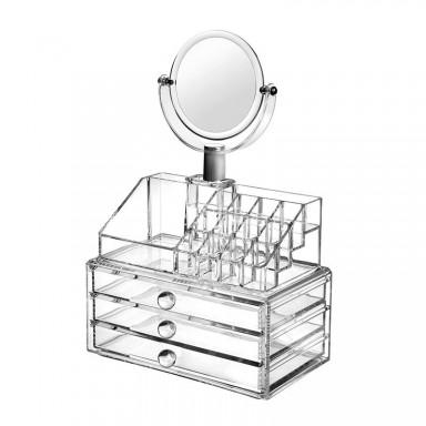 Organizador de maquillaje de acrilico