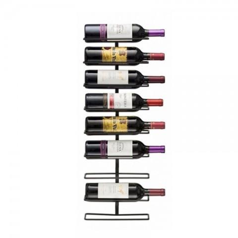 Rack metálico para 9 botellas de vino Muebles