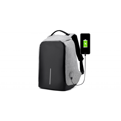 Mochila Antirrobo + extension USB Outdoor