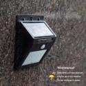Foco solar 20 led con sensor de movimiento Terraza y Jardin
