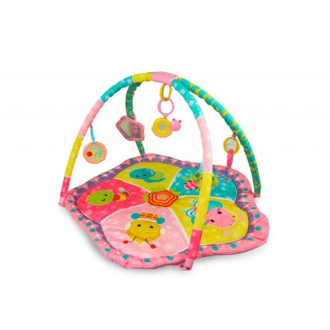 Gimnasio Bebesit 3 Play rosado Accesorios