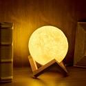 Lámpara Luna de Sal Himalaya Decoración
