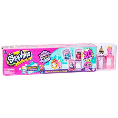 Shopkins S8 mega pack europa