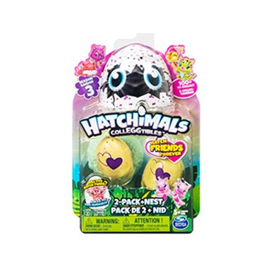 Hatchimals egg carton colecc 2 PK