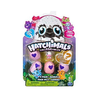 HATCHIMALS S4 PACK 4