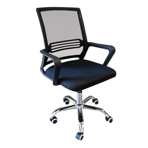 Silla Para oficina con malla Posterior Sillas de oficina