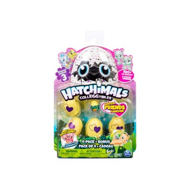 Hatchimals egg coleccionable 4 PK