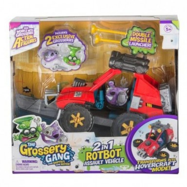 The Grossery Gang S5 Set Juego Rotbo