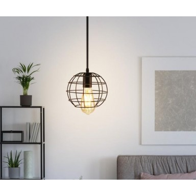 Lámpara Metálica Circular