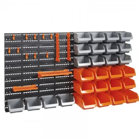 Organizador de herramientas 43 piezas de pared Hogar