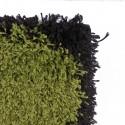 Alfombra Shaggy Roma 50x90 Piedras Verde Alfombras