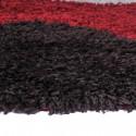 Alfombra Shaggy Roma 150x220 Círculos Rojo Alfombras