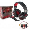 Audifono Gamer 3DFx. Incluye microfono Audífonos