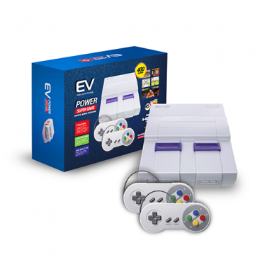 Consola Retro EV Suepr Game Incluye 400 Juegos