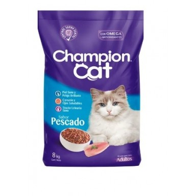 Champion Cat Pescado. Pack 6 x 3 Kgr