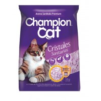 Cristales Sanitarios para Gatos 1,6Kgrs. Champion Cat Gatos