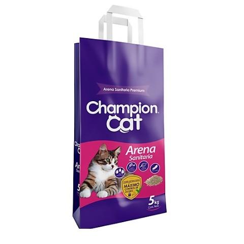 Arena Sanitaria Champion Cat 5 Kgrs Gatos