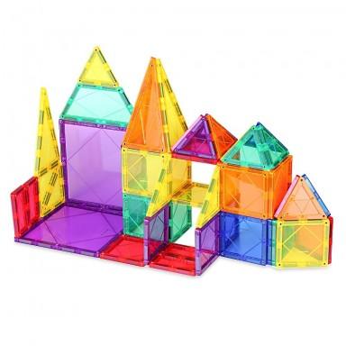 Juguetes Magneticos 3D Mag Wisdom. Set 48 piezas