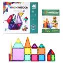 Juguetes Magneticos 3D Mag Wisdom. Set 48 piezas Juguetes