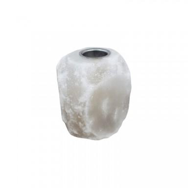 Lámpara de sal aromaterapia natural blanca
