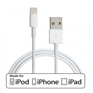 Cable Lightning certificado para Apple de 1 o 2 Metros