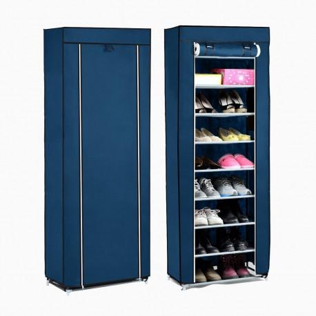 Closet de Tela Móvil para Zapatos