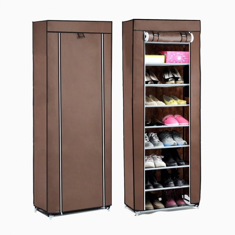 Closet de tela m vil para zapatos el container for Armario para zapatos