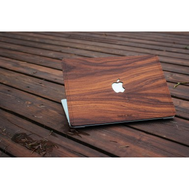 Macbook Air Cover Diseño Madera