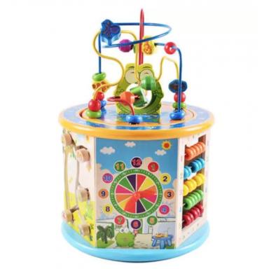 Juguetes Educativos Montessori para aprendizaje de la primera infancia, regalo de madera, rompecabezas de cognición de Color par
