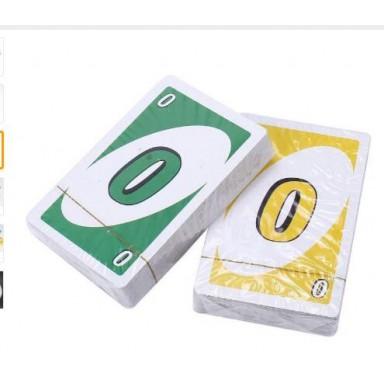 Topsale juegos de Puzzle 172,8g 108 tarjetas de familia gracioso entretenimiento juego divertido jugando a Poker tarjetas de caj