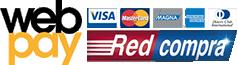 Aceptamos pagos a través de Webpay
